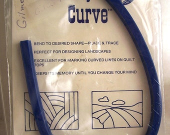 Quilters Flexible Curve Ruler Memory Curve 17 Inches Long