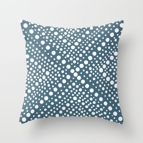 OUTDOOR Throw Pillow - Teal Outdoor Pillow Cover - Modern Geometric X Dot - Outdoor Pillow 16 18 20 inch Teal Throw Pillow Teal Pillow
