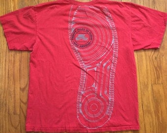 Vintage Nike Air 20 years of air red t shirt large