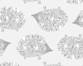 SALE - Cotton + Steel - Sleep Tight Collection - Prickles in Grey