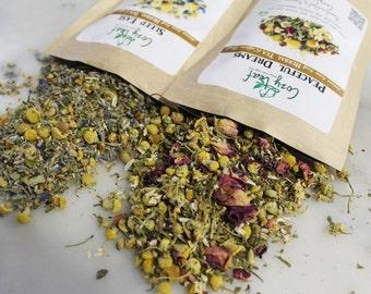 Sheep Counting gift set herbal loose leaf tea variety pack