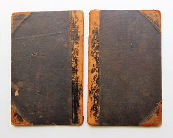 Antique Book Covers  1800's