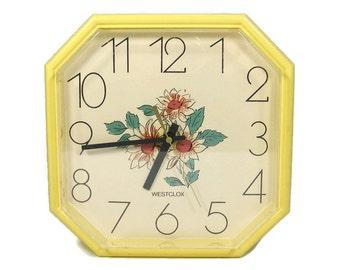 Battery wall clock Etsy