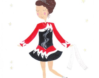 Personalised Irish Dancing Portrait