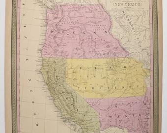 Colton Colorado Map Wyoming Utah Map Western Us States - Us map utah