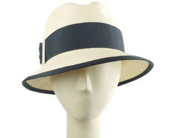 Summer Hat for Women, Panama Hat, Straw Fedora Hat, Womens Hat, Ladies Sun Hat, Womens Summer Hat, Womens Fedora, Womens Straw Hat