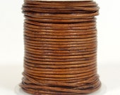 1mm RoundIndian  Leather - Natural Medium Brown - DC5