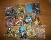 2.5 pounds Bead mixes  FW Pearls+more  Craft supply  Sale ~ Inventory reduction destash