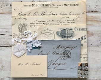 French ephemera pack