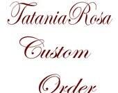 Custom Listing for Lesley