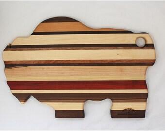 Buffalo Cutting Board - Handmade