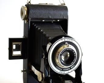 Vintage KODAK Kodex No. 1 Camera Folding Bellows Anastigmat f: 6.3 102 mm