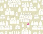 Maker Maker Village Fabric in Neutral (ALN-8458-N) - HALF Yard - by Sarah Golden for Andover Fabrics