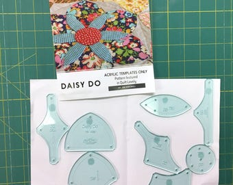 Daisy Do Acrylic Template Set by Jen Kingwell (Quilt Lovely)