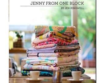 Jenny From One Block by Jen Kingwell pattern booklet