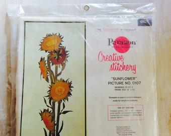 Paragon Creative Stitchery Sunflower Kit Picture No. 0107