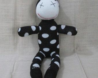 Clearance Handmade Sock clown Stuffed Animal Doll Baby Toys