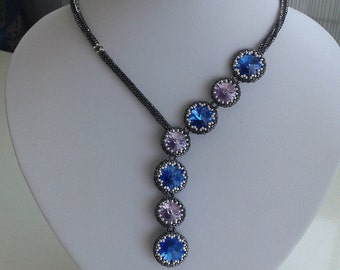 Swarovski Rivoli beaded necklace