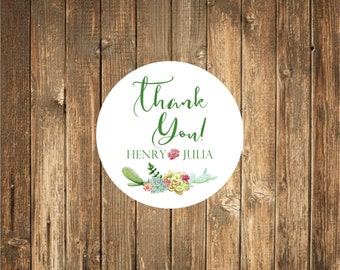 Wedding Thank you Stickers, Favor Stickers, Wedding Favor Stickers,  Favor stickers, Thank you Stickers