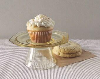 Cupcake Stand // Vintage Glass