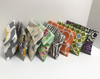 SALE!! Variety Pack of 8 Bridesmaid Clutches