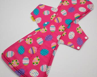 20 Inch Cloth Pad, Heavy Flow Pad, Overnight Cloth Pad, Incontinence Pad,Postpartum Pad,Heavy Absorbency,Cotton Topped W PUL Backing