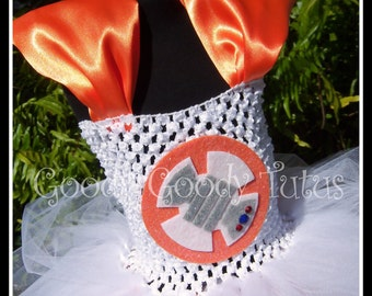 THE OTHER DROID BB8 Inspired Tutu Dress