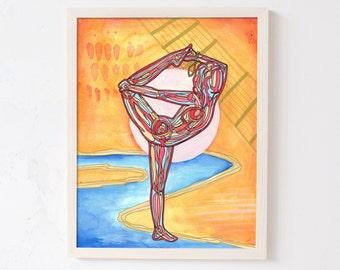 Saraswati | Yoga Art Print