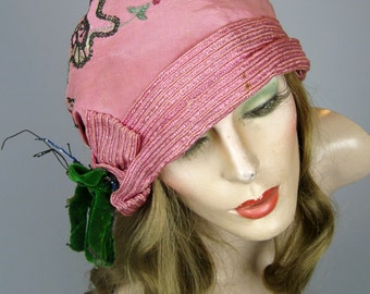Three 1920s Flapper Hats Cloche ~ Style Square, Gretane, Rich Art Models Paris New York