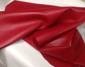 RD21.  Red Leather Lambskin