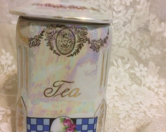 Shabby Chic Tea Caddy
