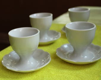 Kaiser Germany Porcelain Egg Cups Set Of 4