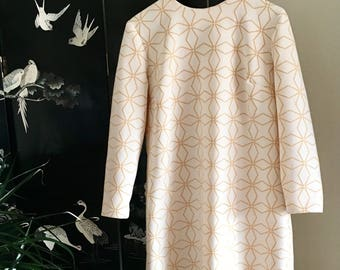 Groovy 1960s Mod Dress Size 12-14