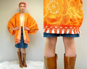 Kimono Sleeve Jacket   //  70s Festival Jacket   //  ETERNAL SUNSHINE