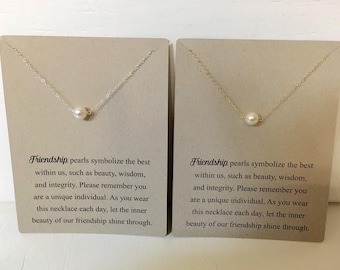 Pearl Friendship Necklace