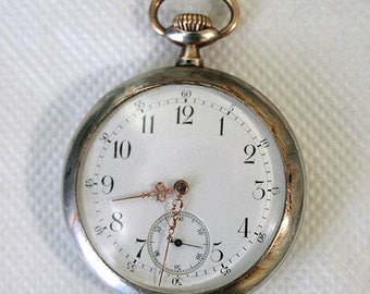 Antique ANCRE Swiss Pocket Watch 15 Rubis  1900-1920