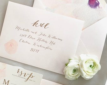 Digital Calligraphy and Custom Envelope Address Printing