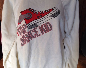 The Tap Dance Kid authentic vintage 1980s sweatshirt size small