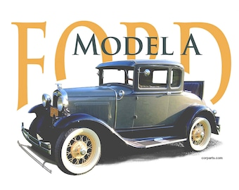 "FORD Model ""A"" T-Shirt"