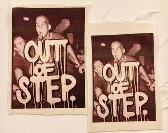 OUT OF STEP Minor Threat Patch by Mel1