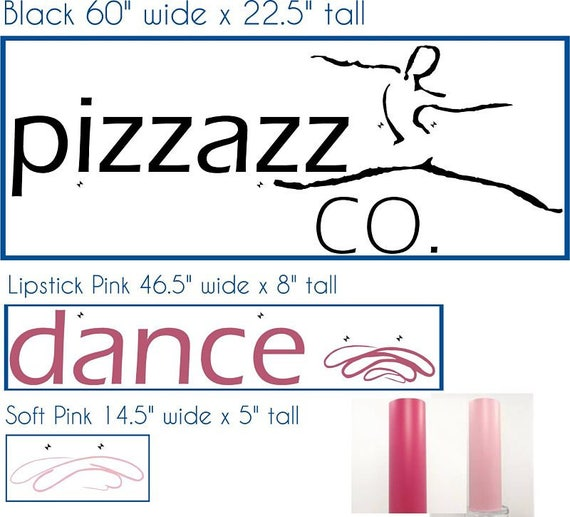 Private Listing for Kim Pizzazz Dance Co. Logos and Dandelions
