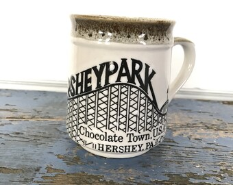 Vintage Hershey Park Mug, Japan Mug, Vintage Mug, Mug Lover, Mug Lovers, Vintage Pottery, Vintage Chocolate Mug, Hot Chocolate Mug