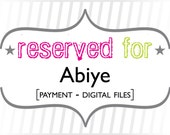 Abiye: Payment for Custom Printable Files - Fleur de Lis