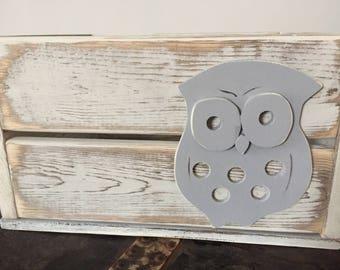 Owl Book/Toy/Diaper Storage Crate
