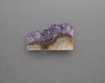 Polished Amethyst Slice