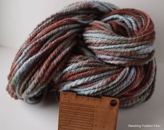 Bulky Handspun Montana Wool Yarn Y32