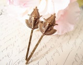 Egyptian Goddess bobby pins-medieval-shabby chic-steampunk-Victorian V035