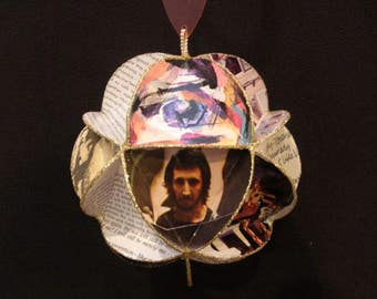 Pete Townshend Album Cover Ornament Made Of Record Jackets - The Who Band