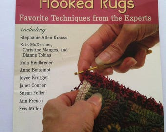 Finishing Hooked Rugs, Illustrated Rug Making, Rug Hooking Designer Book, How to Finish Hooked Rugs Detailed Instruction Book, Rug Hooking