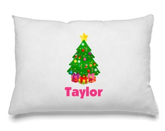 Personalized Pillow Case Christmas Personalized Pillow Case